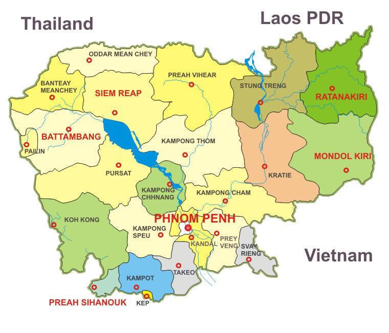 Phnom Penh Overview GoPhnomPenhcom - Where is cambodia